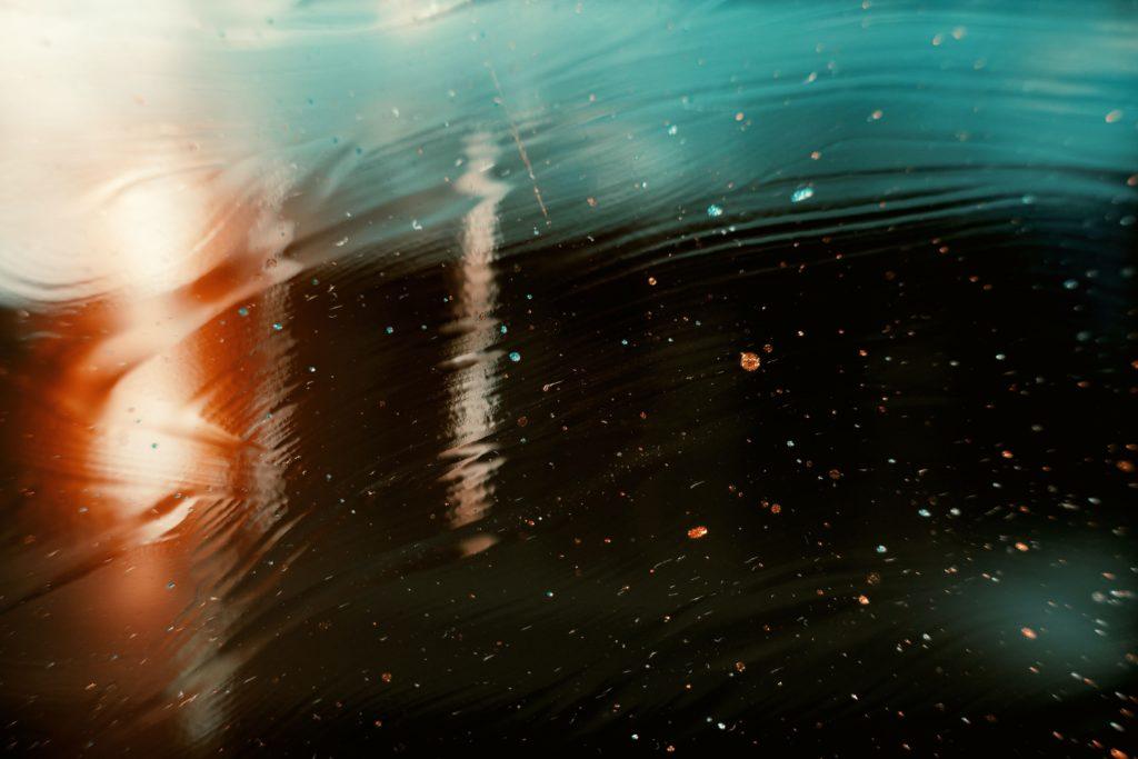 abstrakte Kunst Wasser